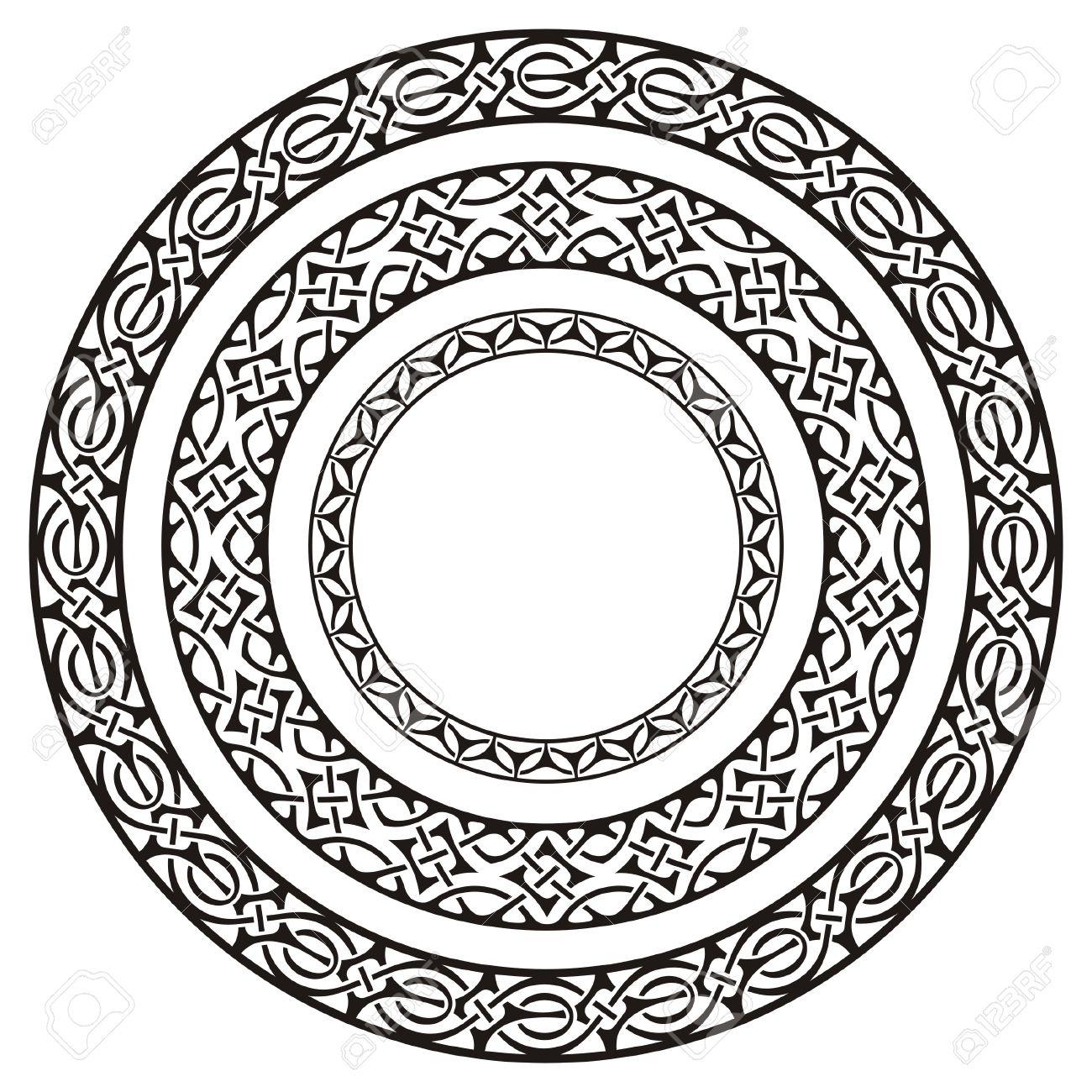 Circle Frames Royalty Free Cliparts, Vectors, And Stock Illustration ...