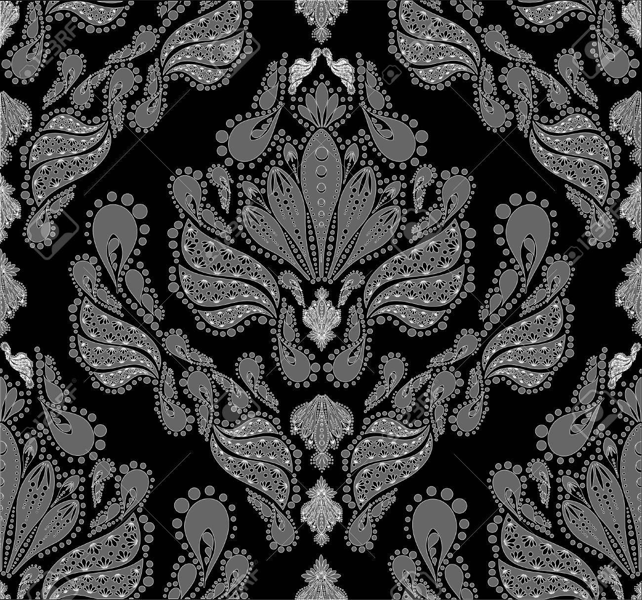 Vector decorative royal seamless floral ornament Stock Vector - 5259708