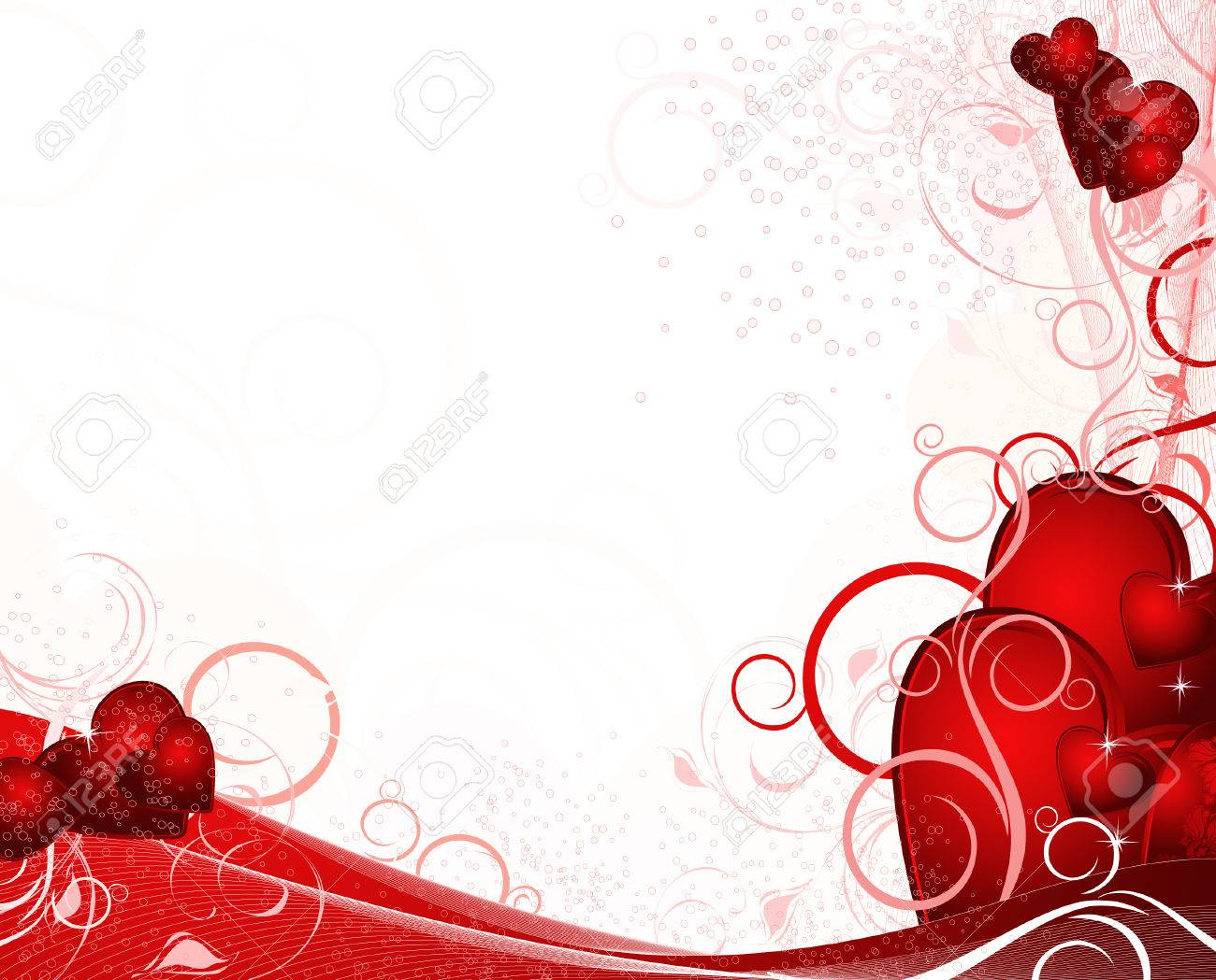 valentines card background