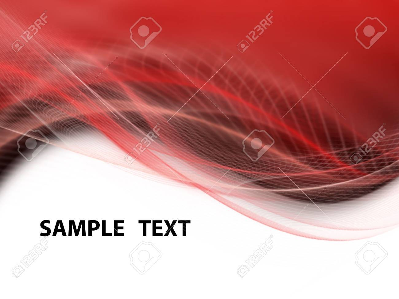 White, black and red modern futuristic background with abstract waves Stock Photo - 7246510