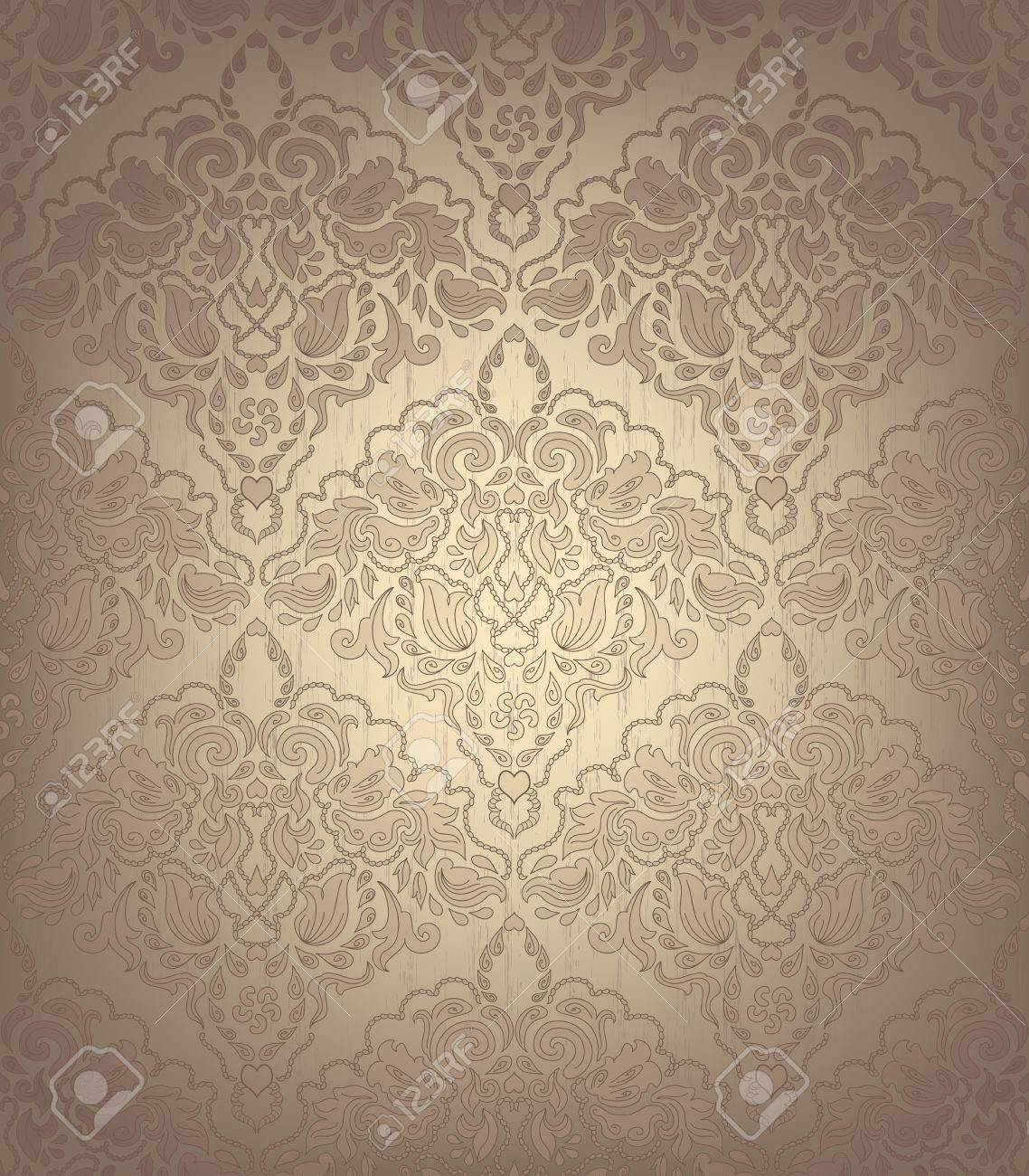 Seamless Floral Ornament - 13835993