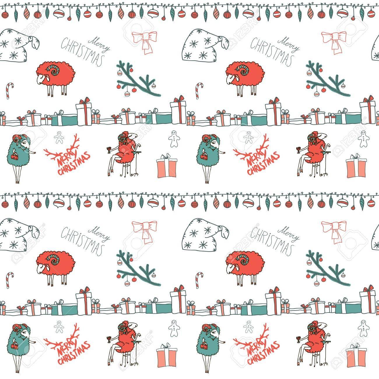 Vector Ornamento De Navidad Elementos De Diseño Caligráfico Y ...