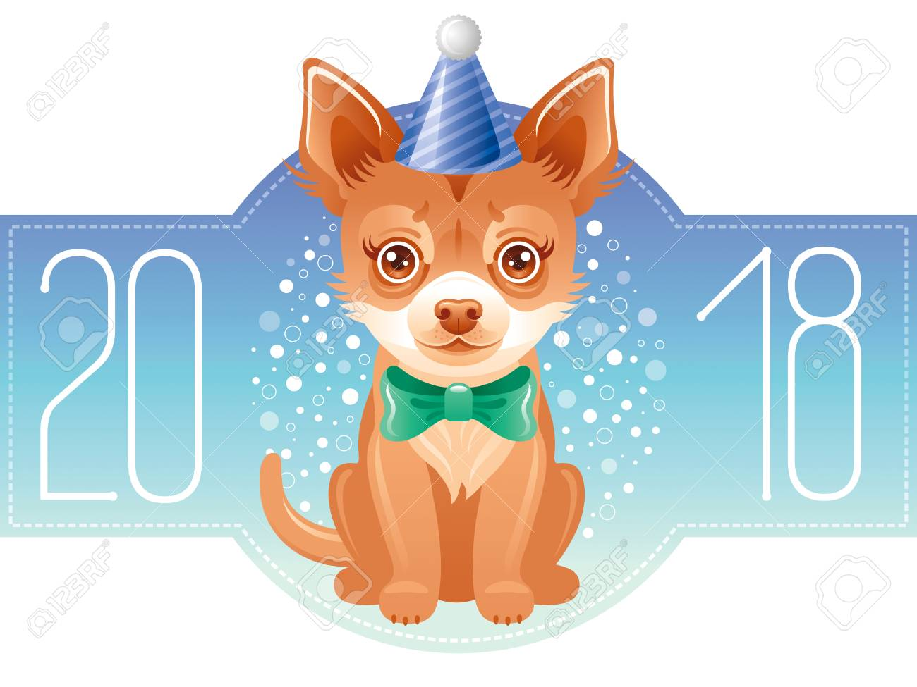 Happy new year 2018 greeting card chinese new year dog symbol happy new year 2018 greeting card chinese new year dog symbol oriental holiday buycottarizona Choice Image