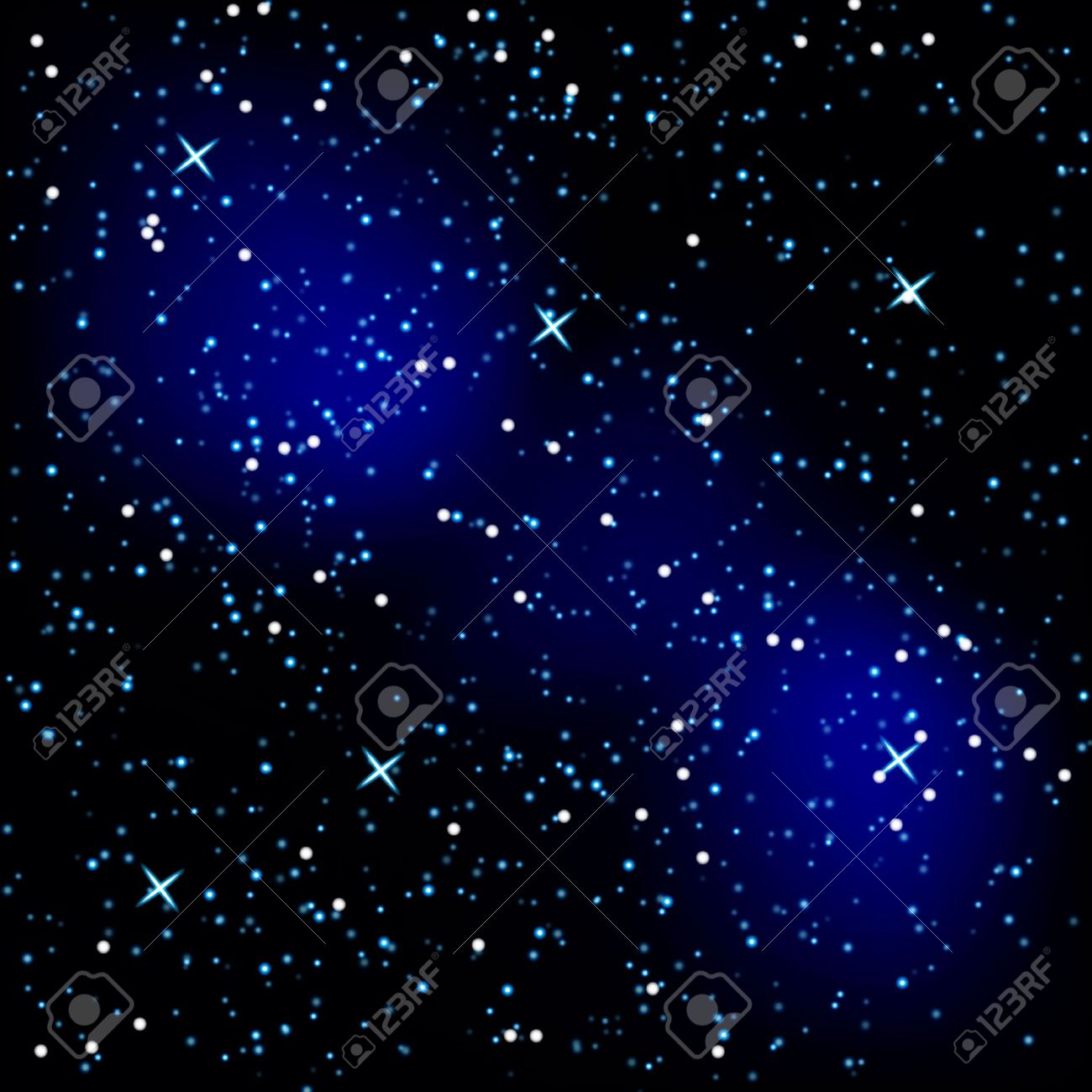 Background in the form of a starry sky Stock Vector - 16872107