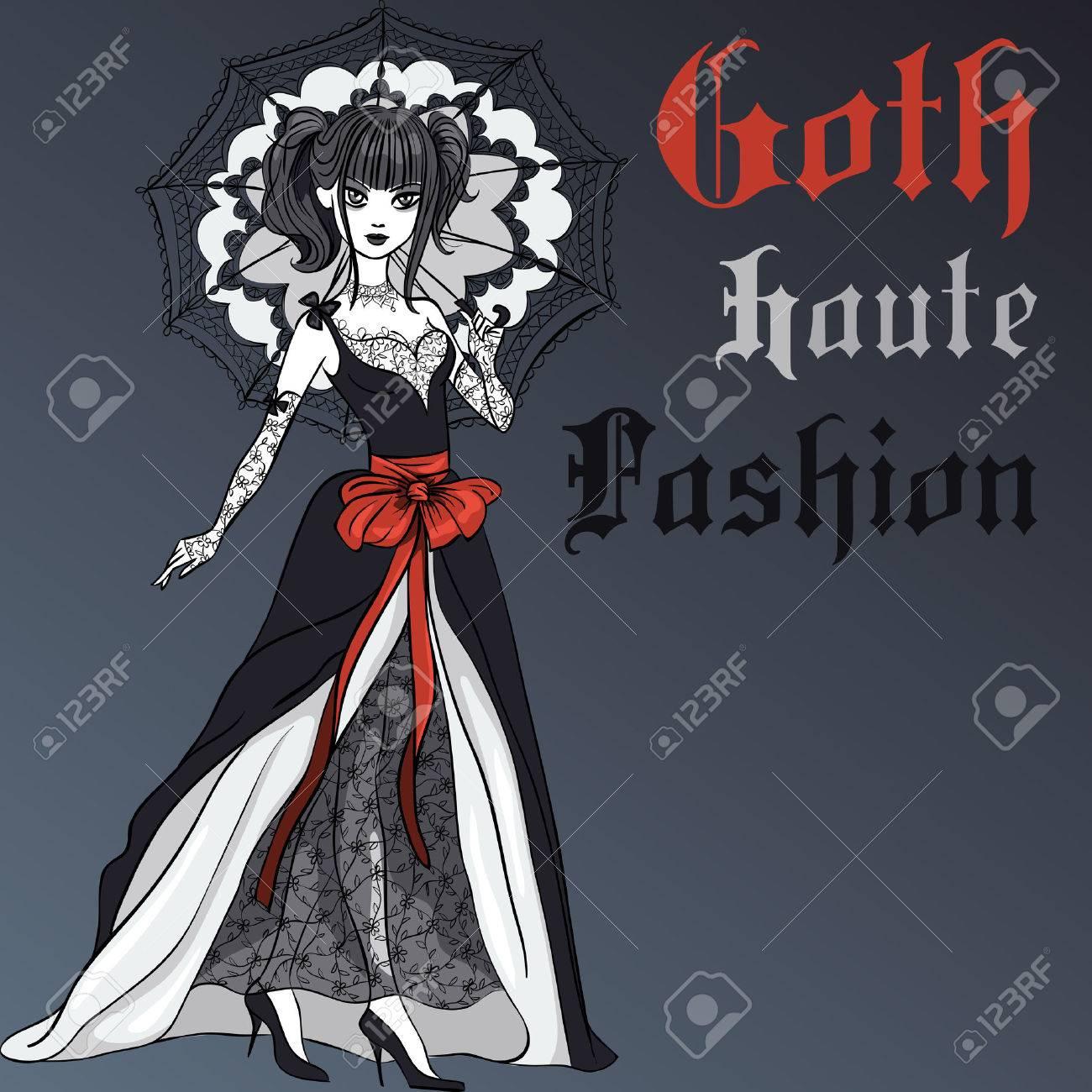 Victorian Gothic Graphic Design