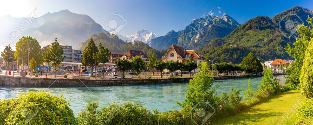Old City of Interlaken, Switzerland - 129212006