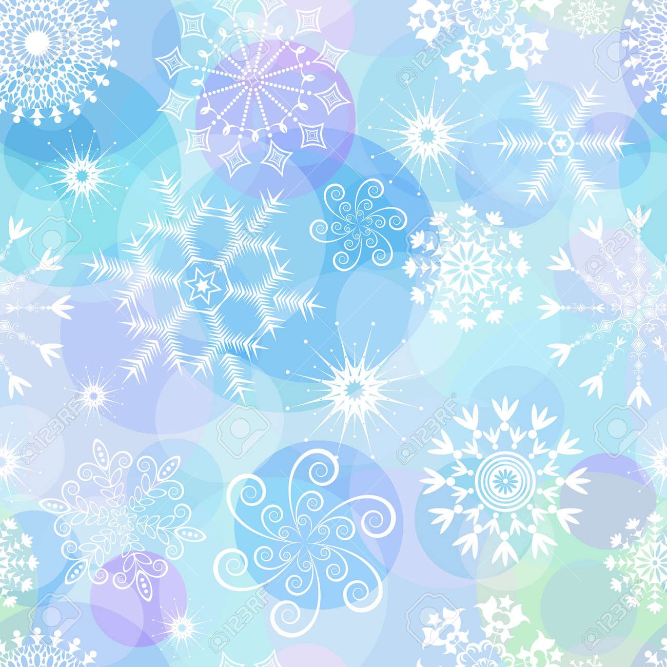 Seamless Christmas Pattern Royalty Free Cliparts, Vectors, And ...