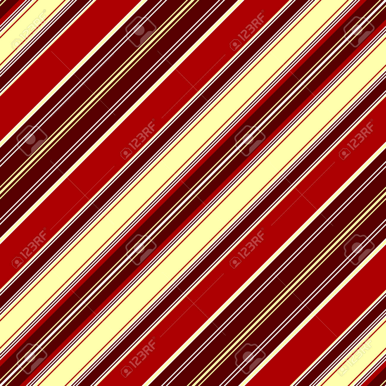 Diagonal seamless red striped pattern Stock Vector - 6490750