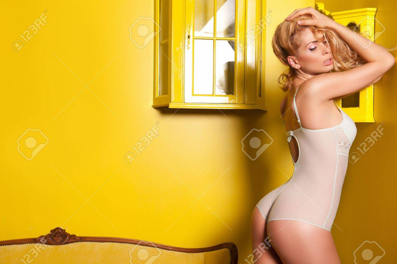 Beautiful woman in a sexy lingerie Stock Photo - 10010162