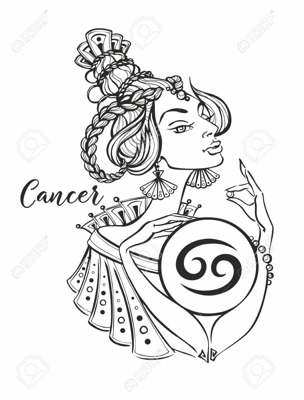 cancer horoscope astro girl