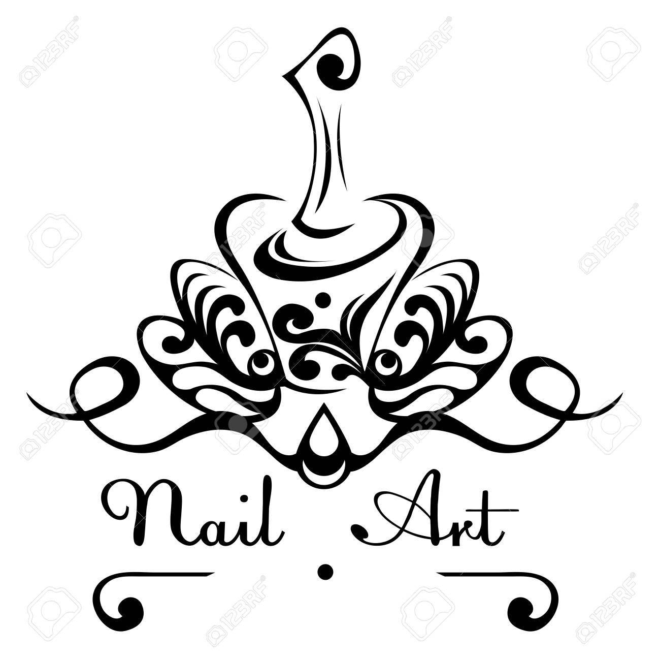 Bottle Of Nail Polish Clip Art | Hession Hairdressing