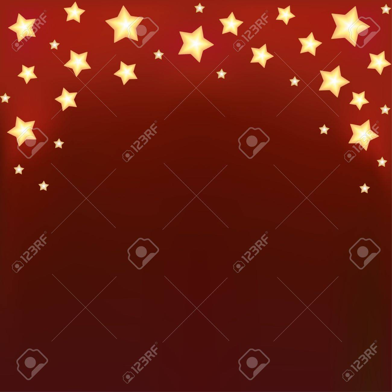 Background with shiny cartoon stars  Template design for card Stock Vector - 17503445