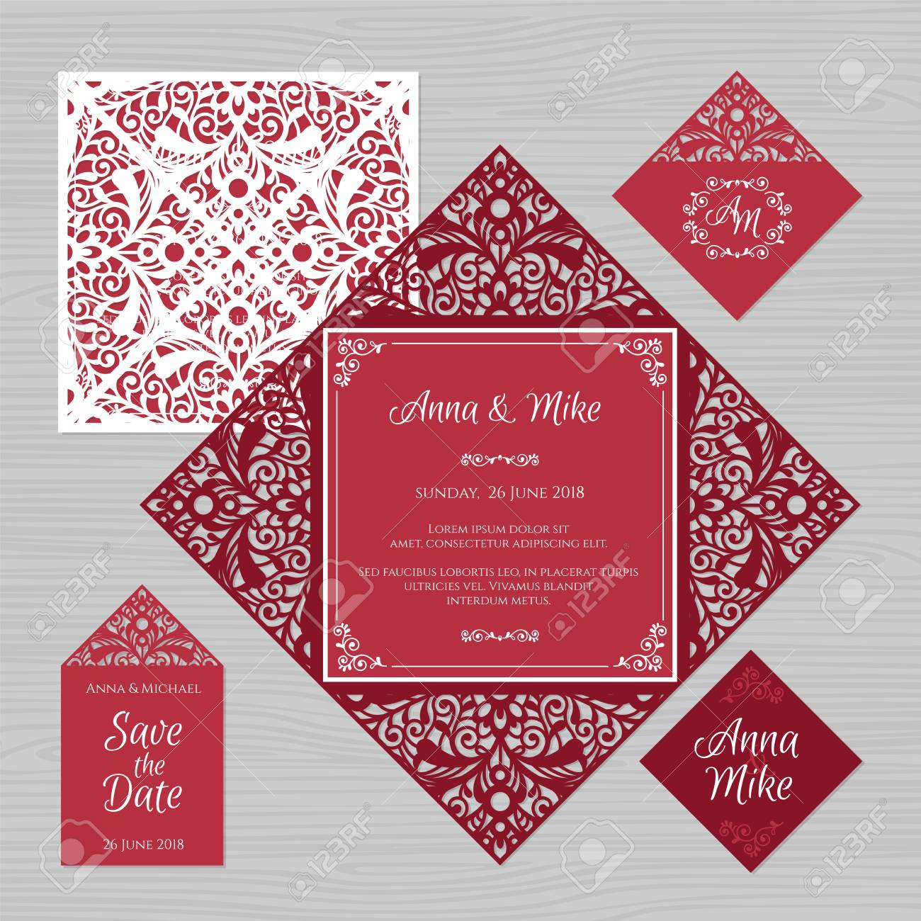 Famous Envelopes For Wedding Invites Illustration - Invitations and ...
