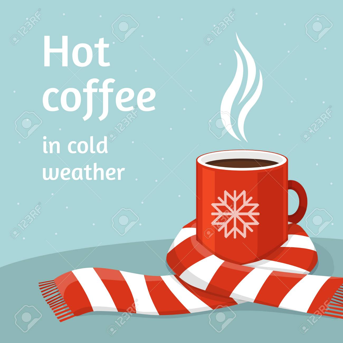 Hot coffee in red cup. - 88222770