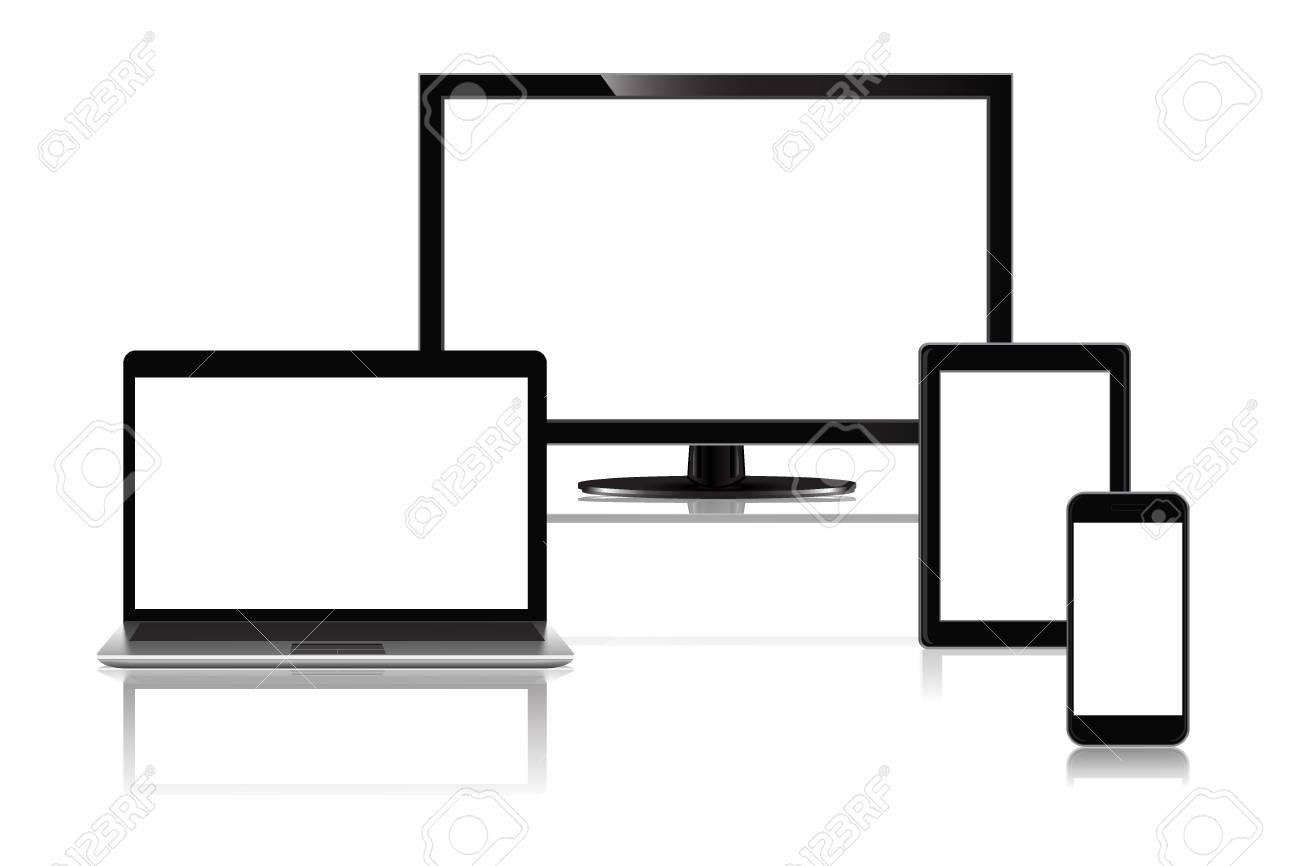 コンピューター、ノート パソコン、携帯電話、タブレット pc
