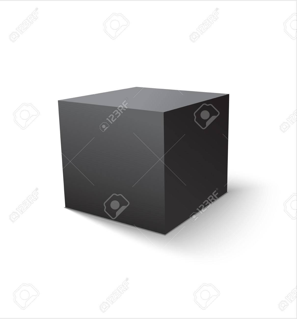 box black icon template for your design vector illustration