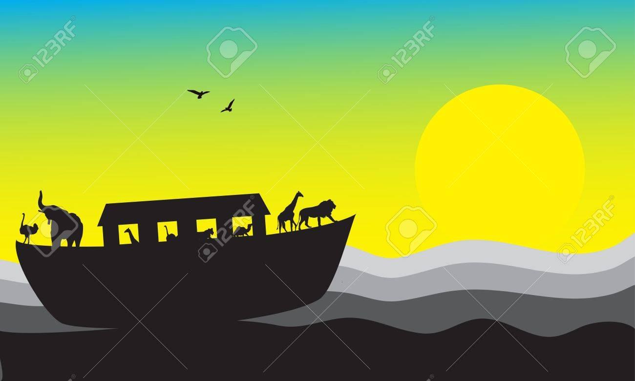 Noah s Ark Stock Vector - 14536934