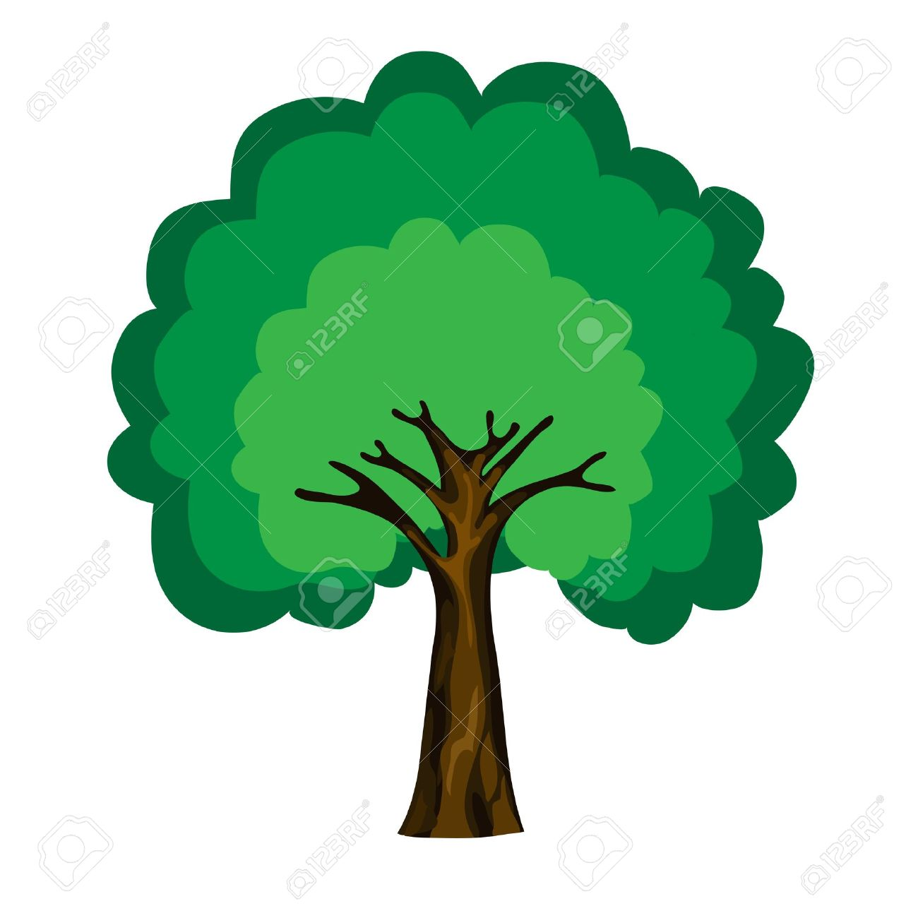 Cartoon Tree Isolated On White Background Vector Royalty Free Cliparts Vectors And Stock Illustration Image 14737865 When designing a new logo you can be inspired by the visual logos found here. cartoon tree isolated on white background vector