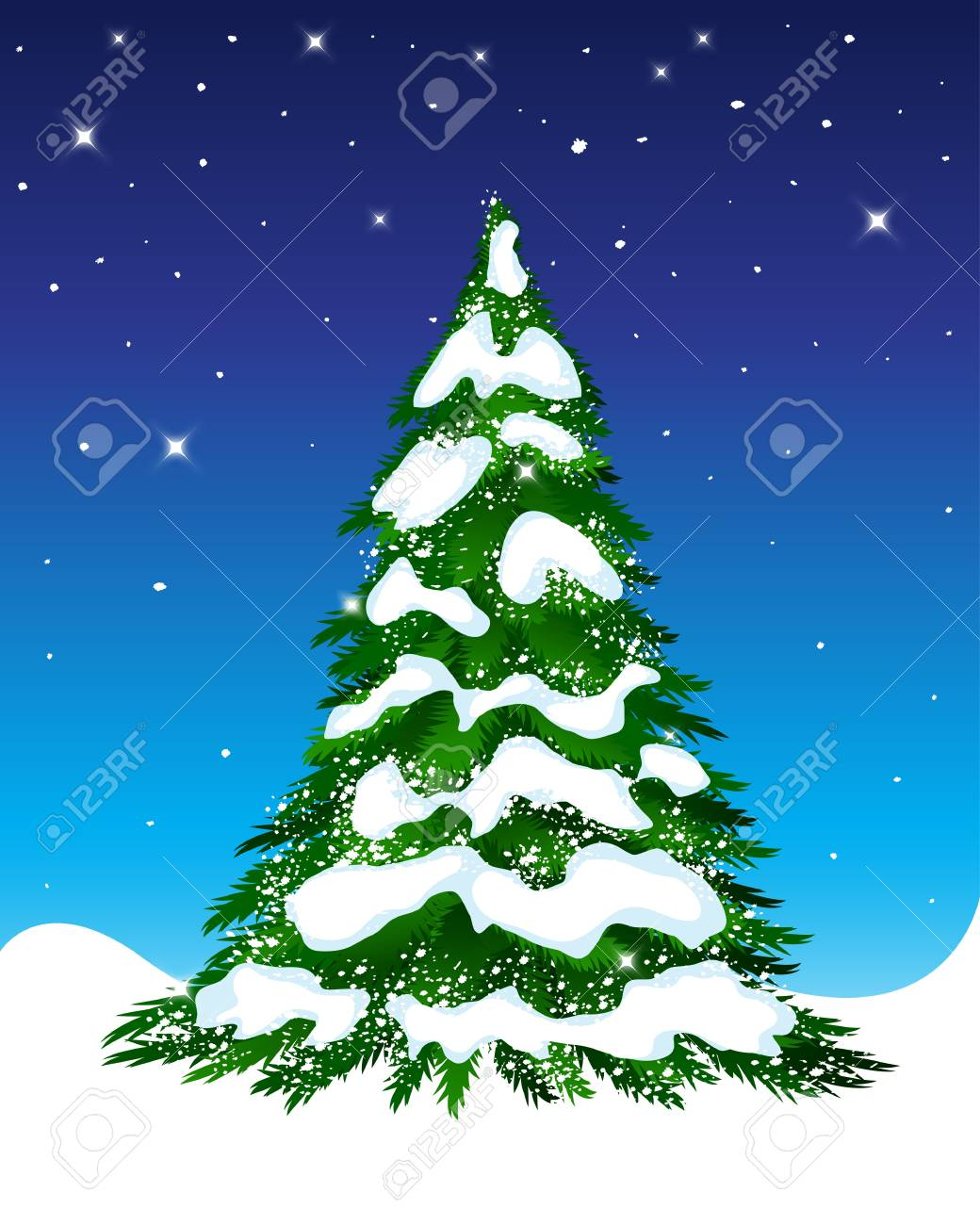 christmas tree Stock Vector - 15752024