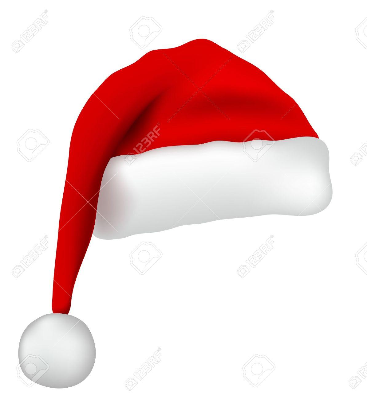 santa claus hat royalty free cliparts vectors and stock rh 123rf com blue santa claus hat clipart Black Santa Claus