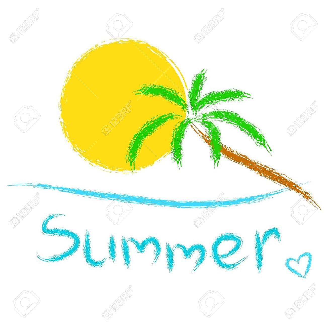Summer background Stock Vector - 20274833