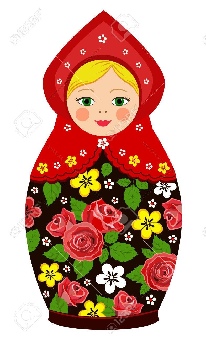 イラスト マトリョーシカ [フリーイラスト] マトリョーシカ人形