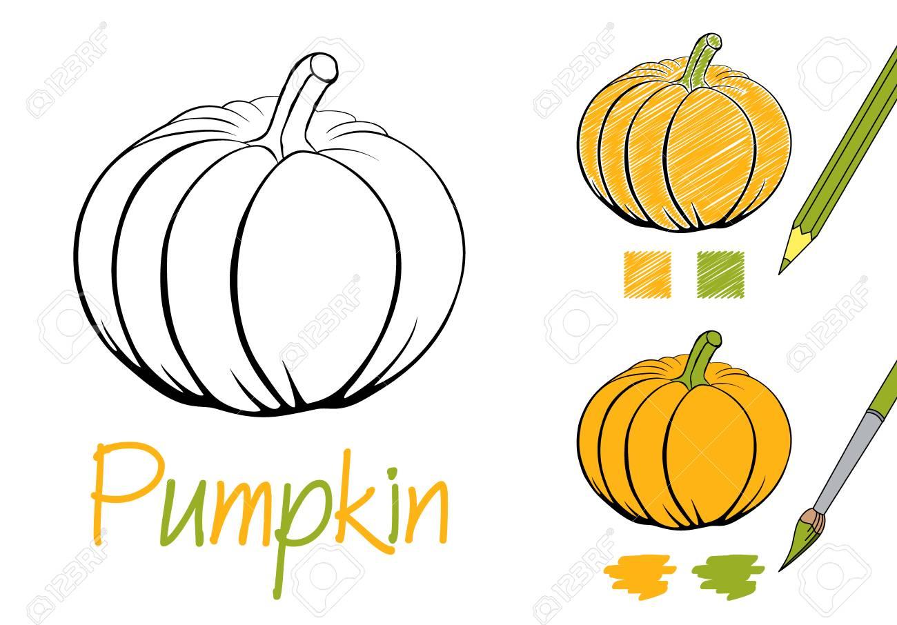 Ziemlich Herbst Kürbis Färbung Seite Ideen - Entry Level Resume ...