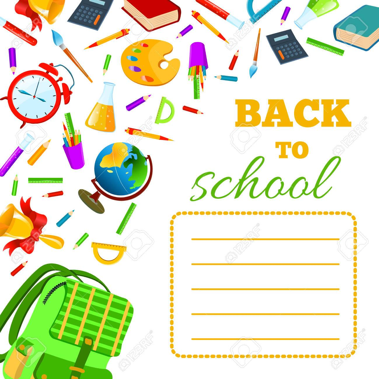 back to school cover for children teenagers school exercise book