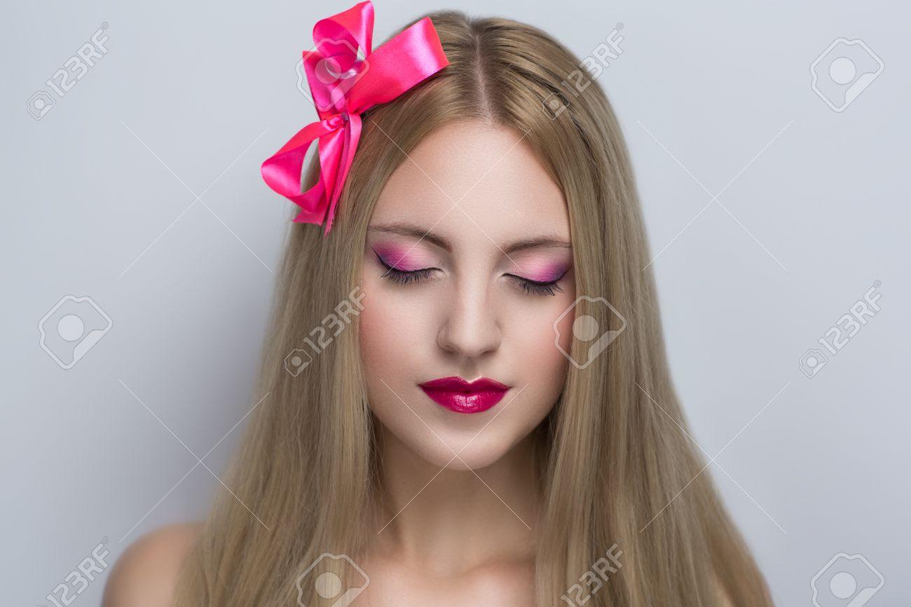 Portrait Belle Jeune Femme Sexy Modèle Femme Actrice Princesse