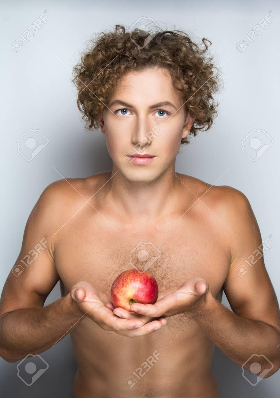 Hot horny nude busty babe