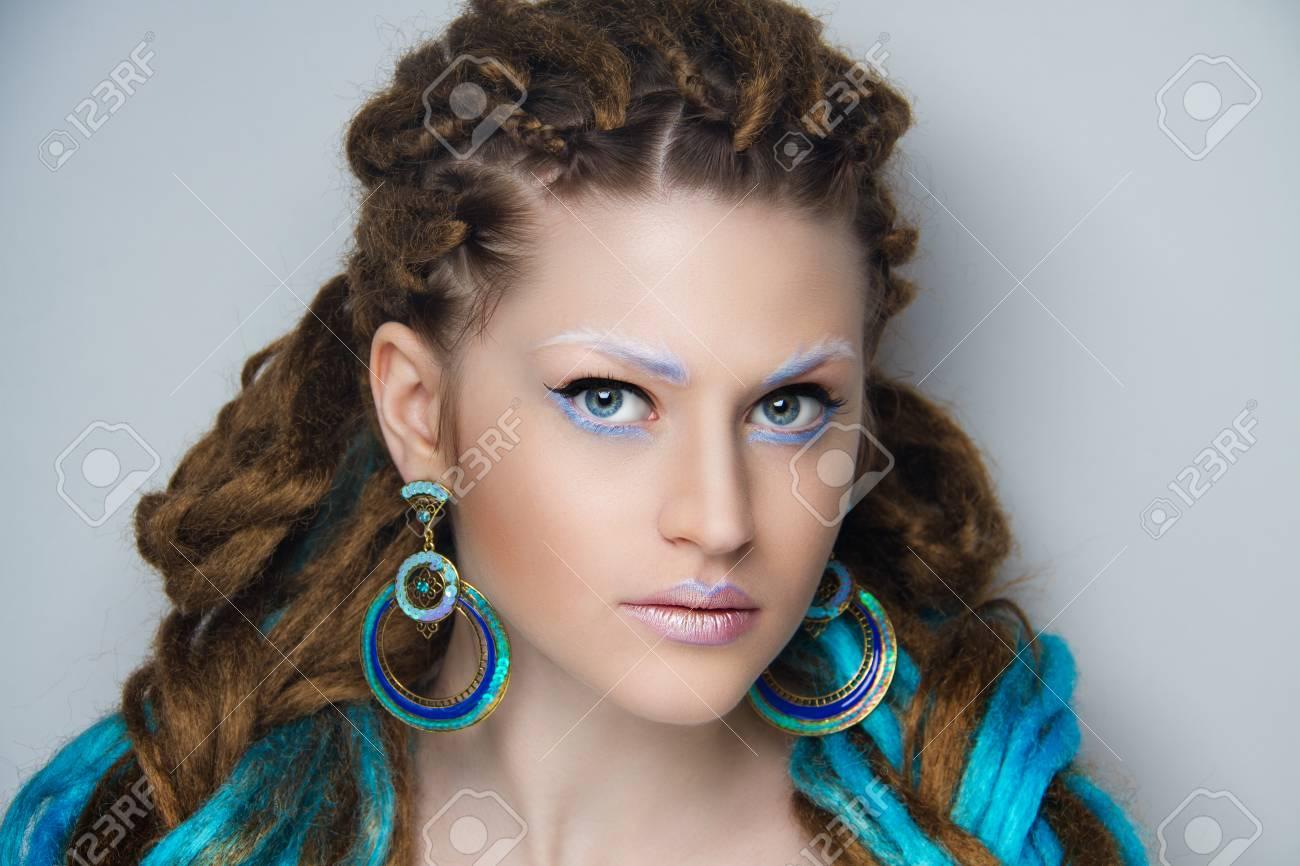 White Girl Weave Hair Stock Photos Royalty Free White Girl Weave