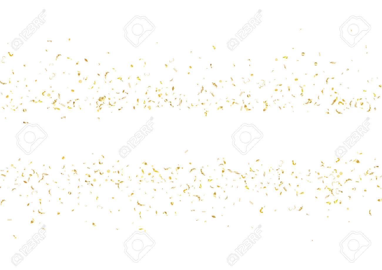 Fondo Abstracto Con Volar Sutil Gradiente Dorado Confeti ...