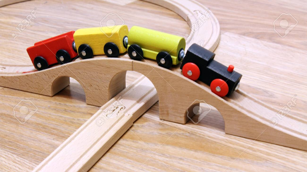 LocomotiveTrain Colorée Jouet Enfant En De BoisVoiture pUzqMVSG