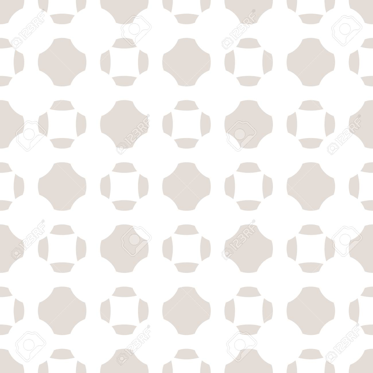Vector Minimalist Seamless Pattern In Neutral Colors White And