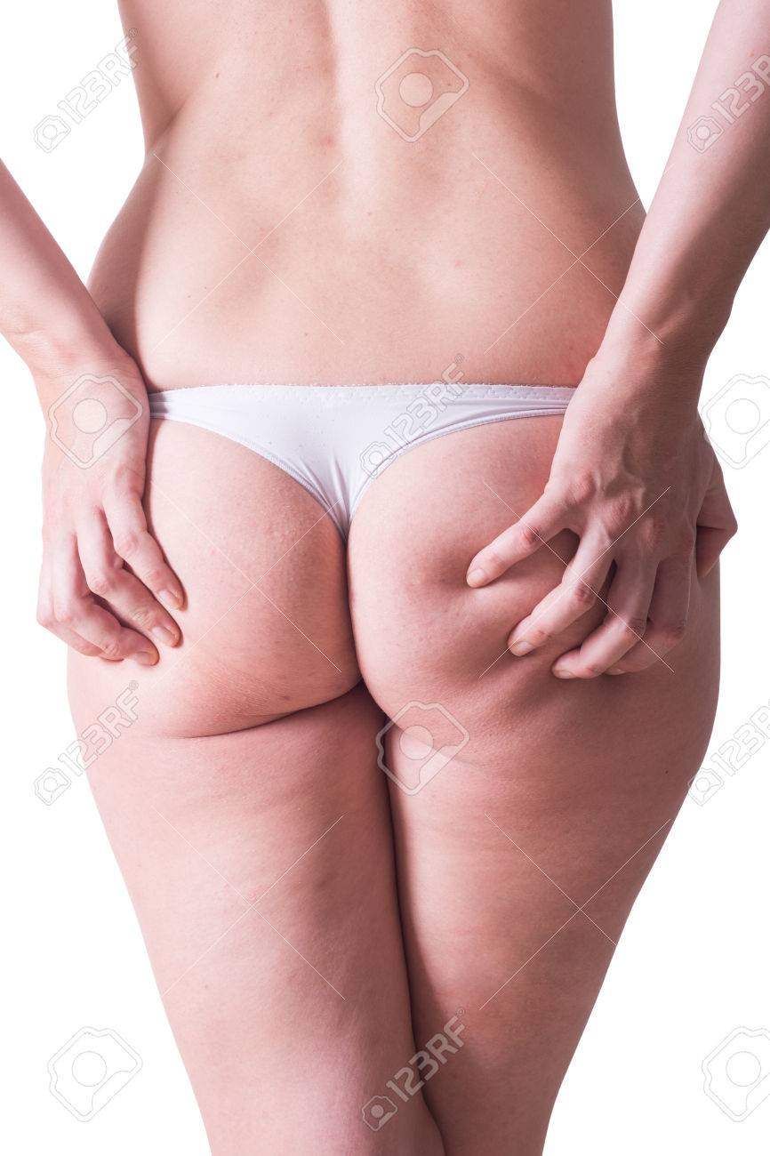 White Panties Ass