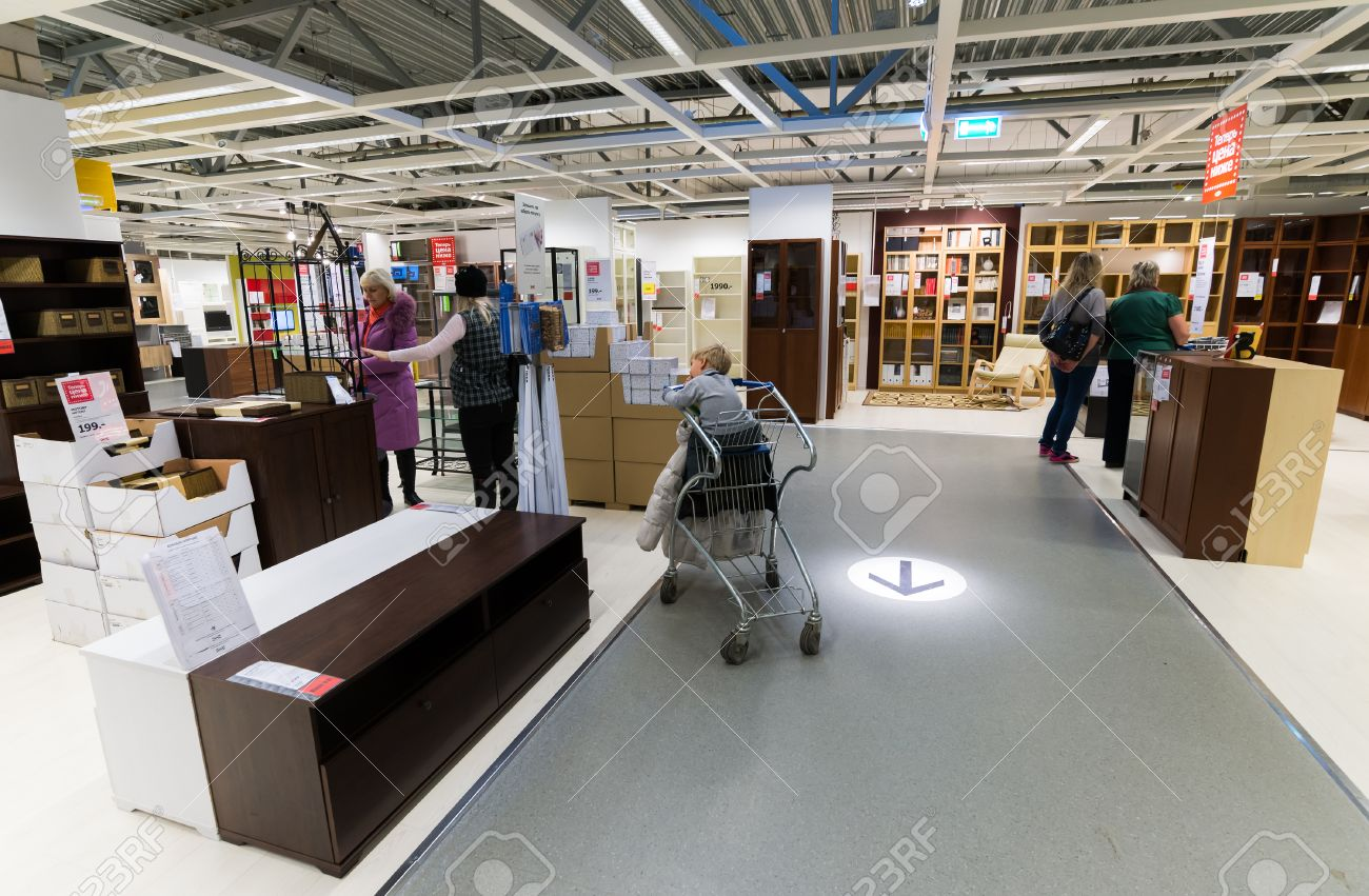 Interior Furniture Store Ikea Stock Photo Picture And Royalty