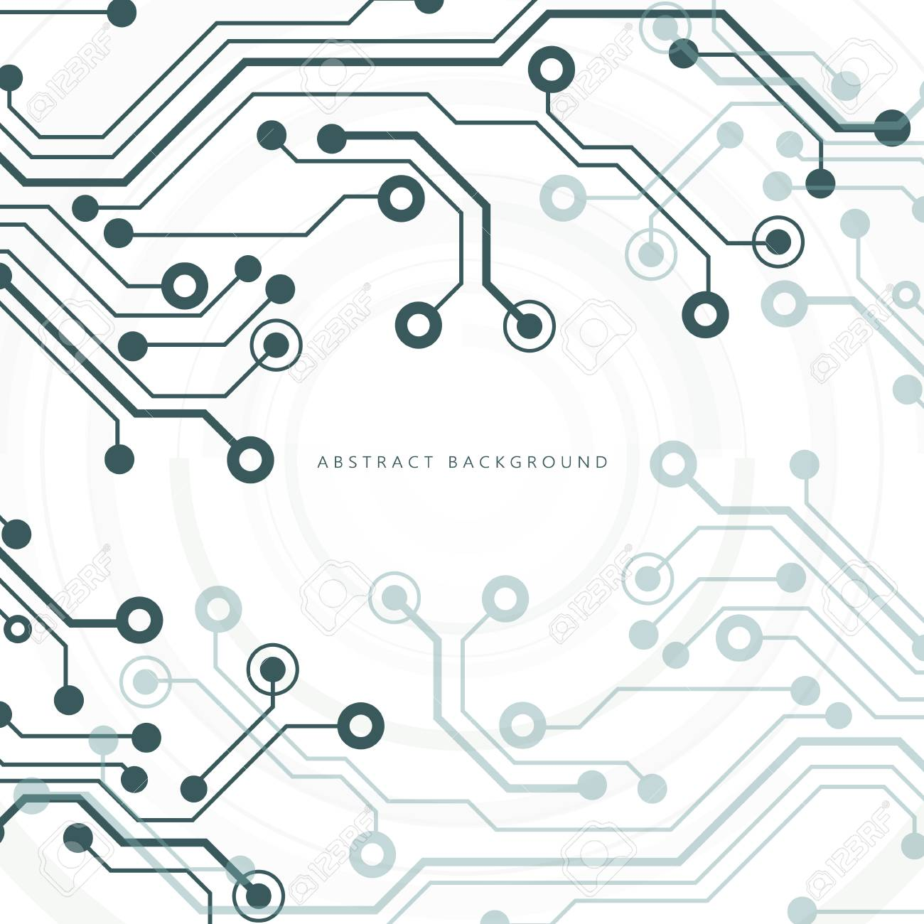Circuit board, technology background. Vector illustration. - 93898185