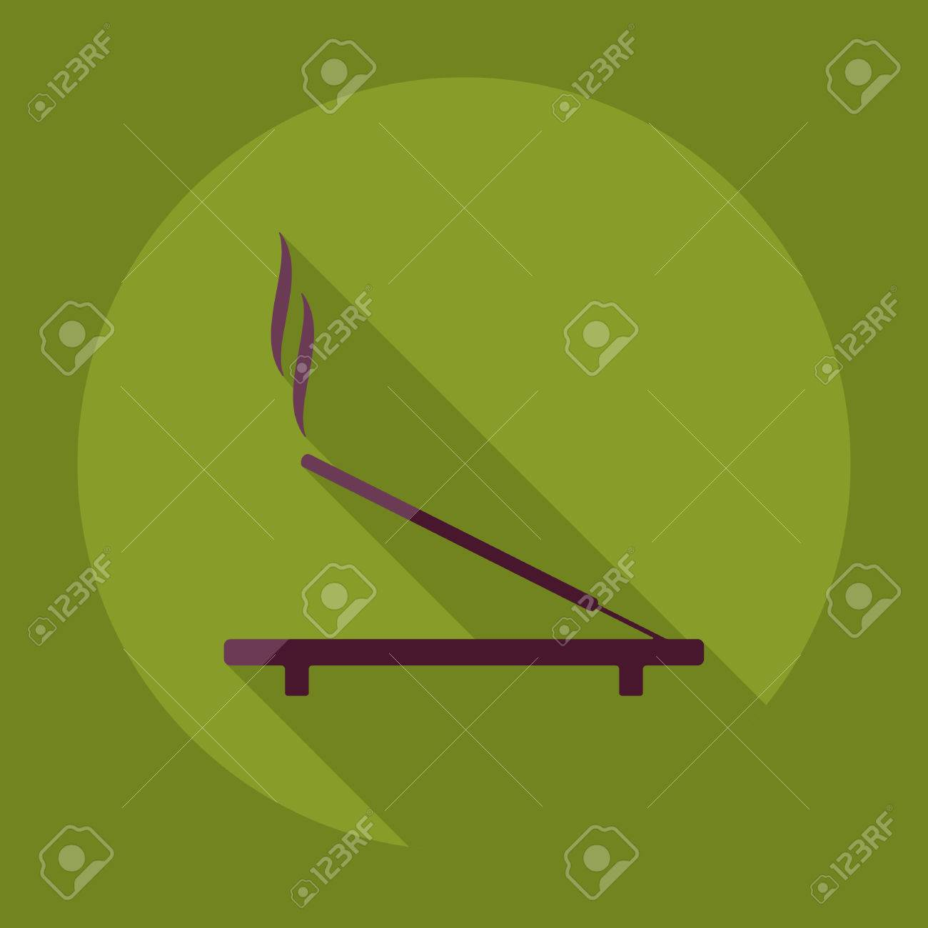 Flat Modern Design With Shadow Incense Sticks Royalty Free Cliparts Vectors And Stock Illustration Image 53022787