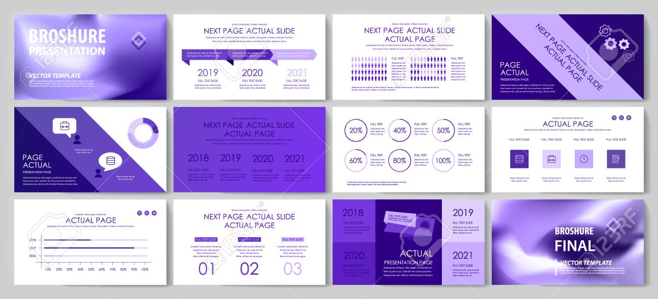 This template is the best as a business presentation, used in marketing and advertising, flyer and banner, the annual report - 123249081