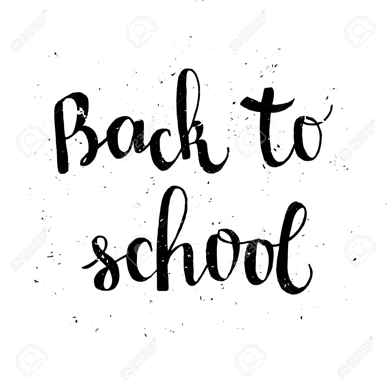 back to school poster with typographic lettering education label rh 123rf com grunge texture vector png grunge texture vector free download