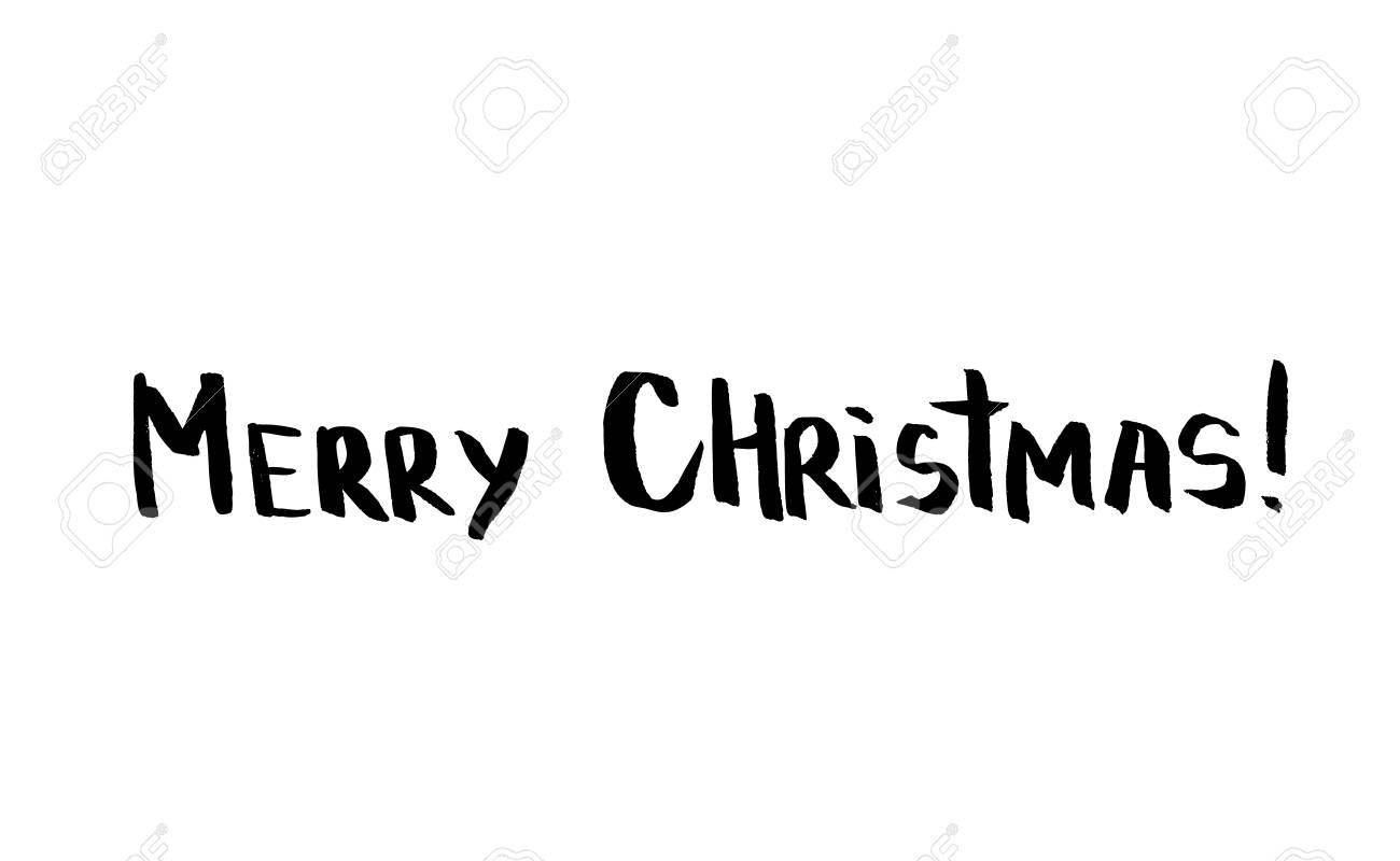 Einfache Minimalistisch Gruß Weihnachtskarte Mit Handgezeichneten ...