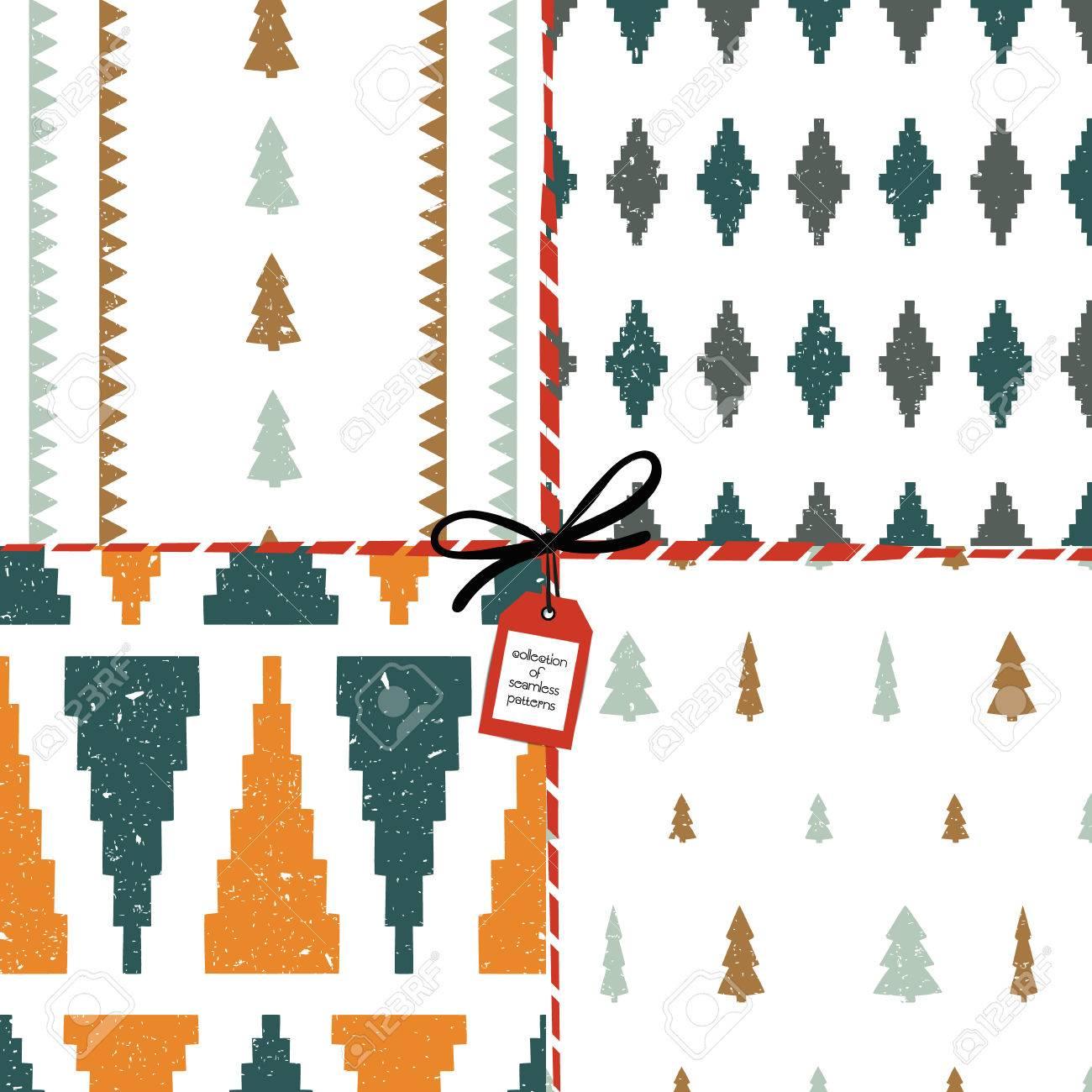 Abstraktes Nahtloses Muster. Design Für Stoffe, Textilien, Papier ...