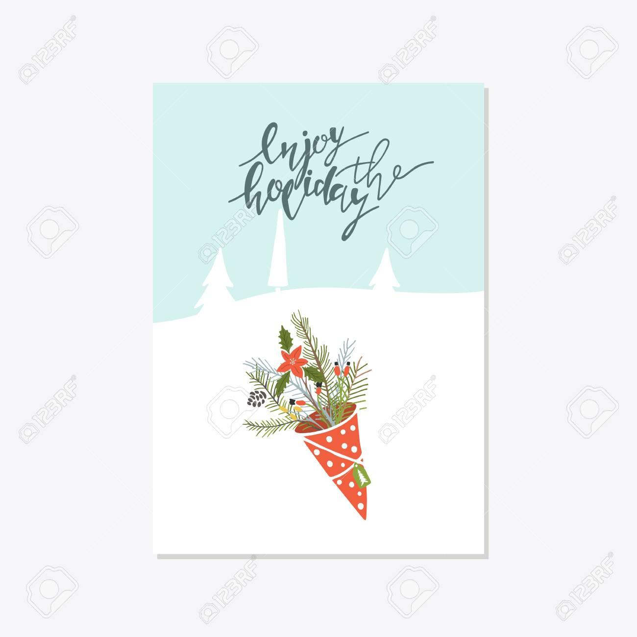 Schablone Frohe Weihnachten.Stock Photo