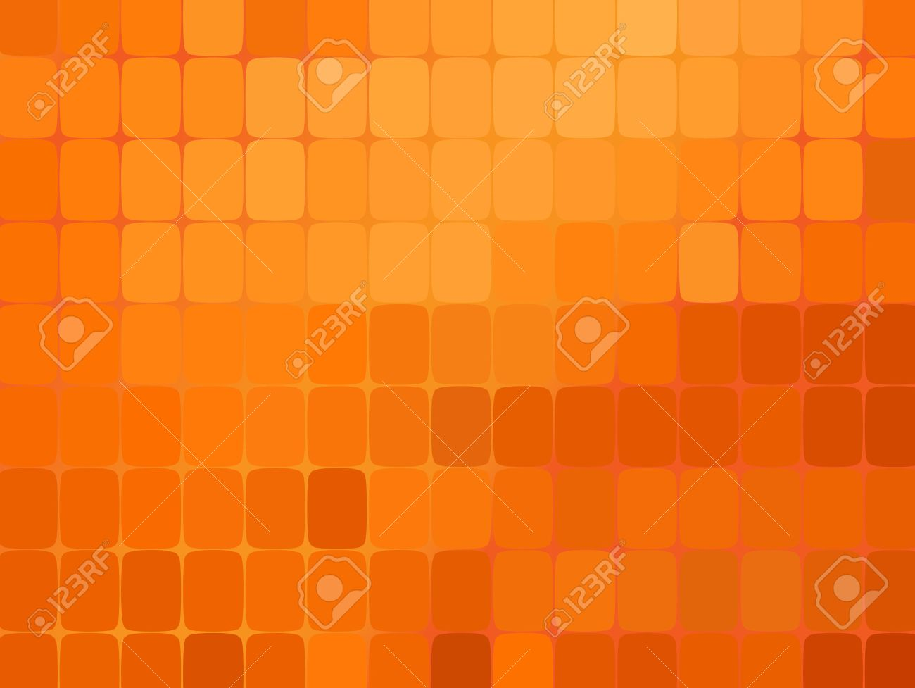 Abstract oranje mozaïek achtergrond. vector illustratie. oranje ...