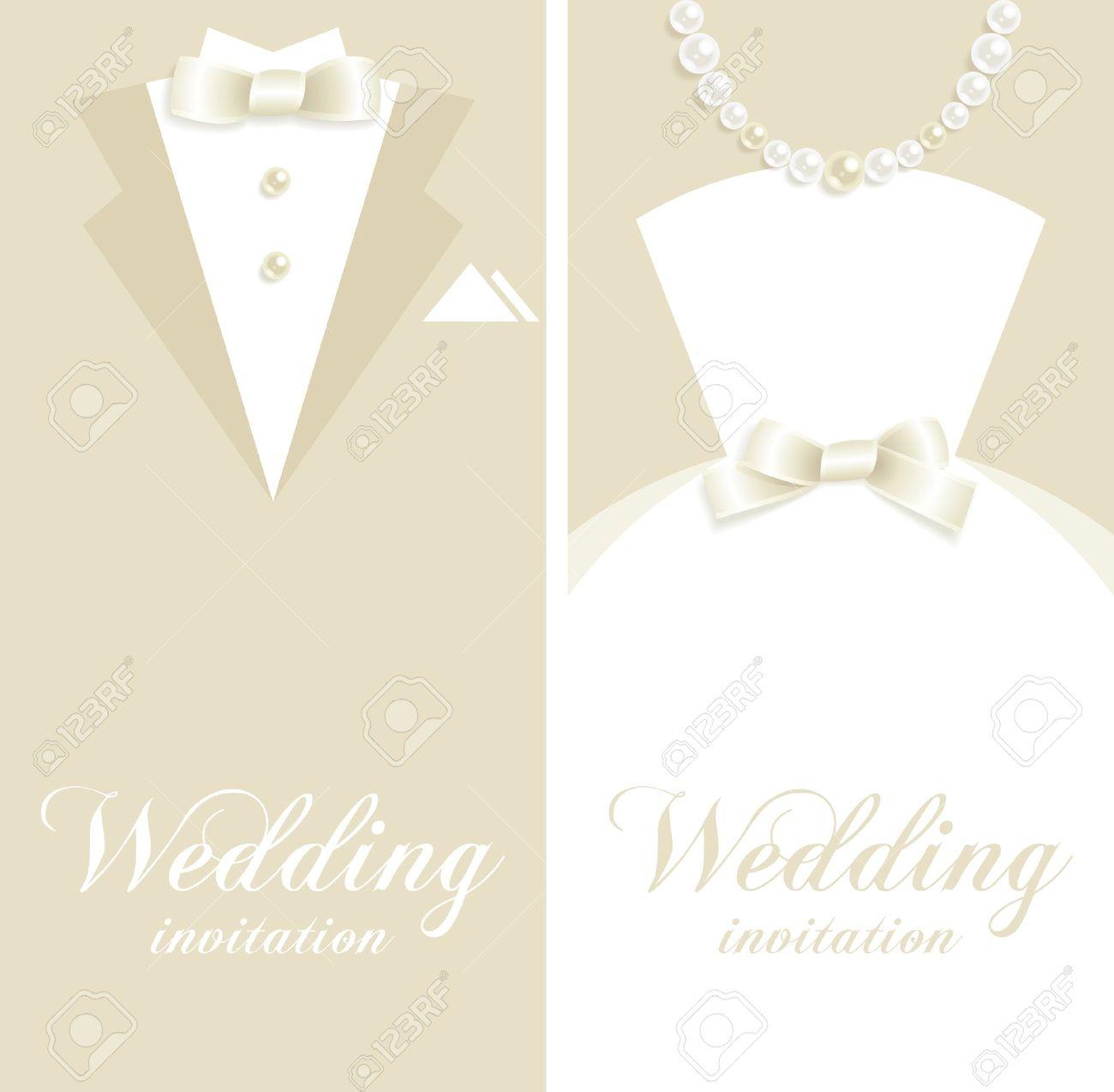 結婚式タキシードとウエディング ドレスのシルエットを背景