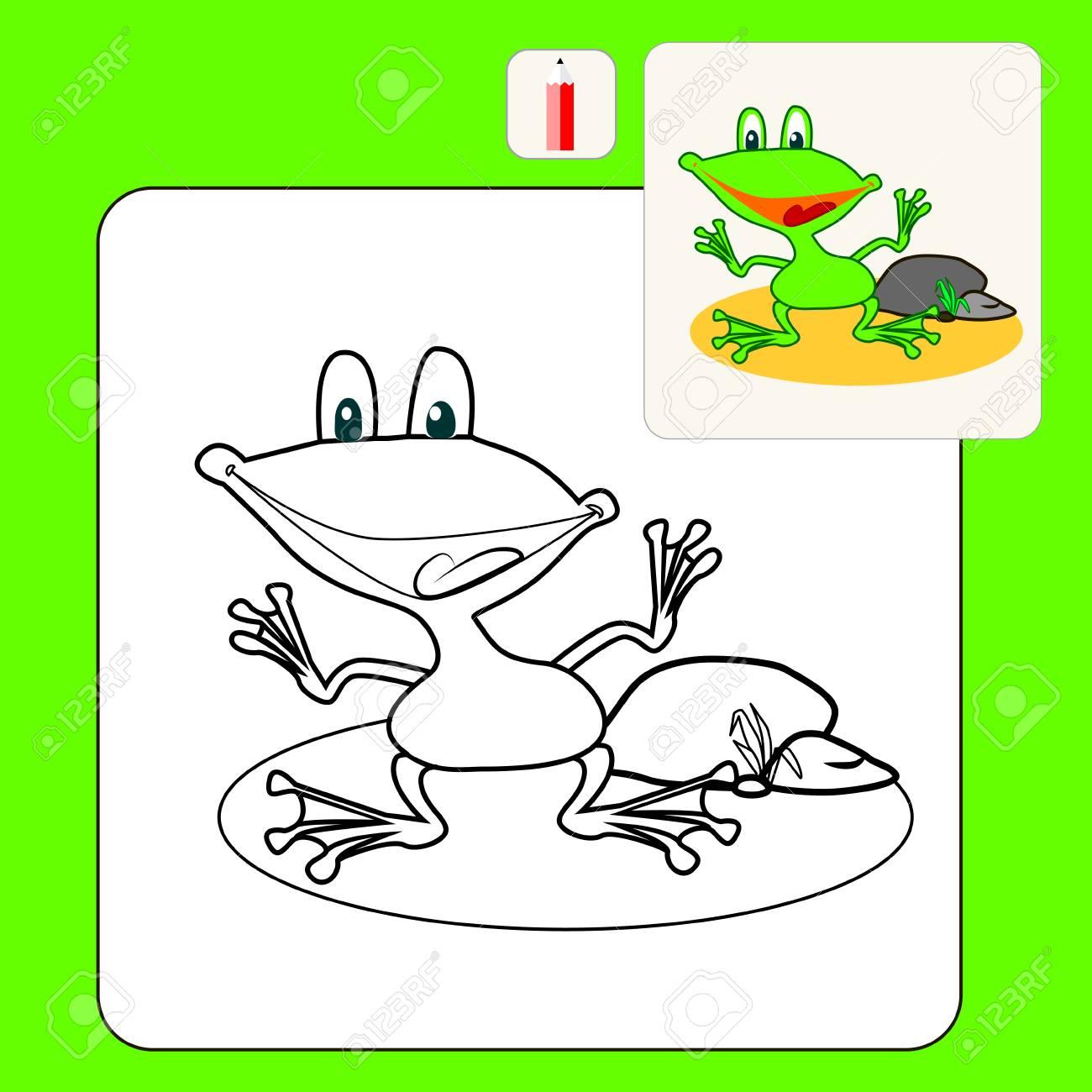 Ziemlich Frosch Farbfolien Zeitgenössisch - Malvorlagen Von Tieren ...