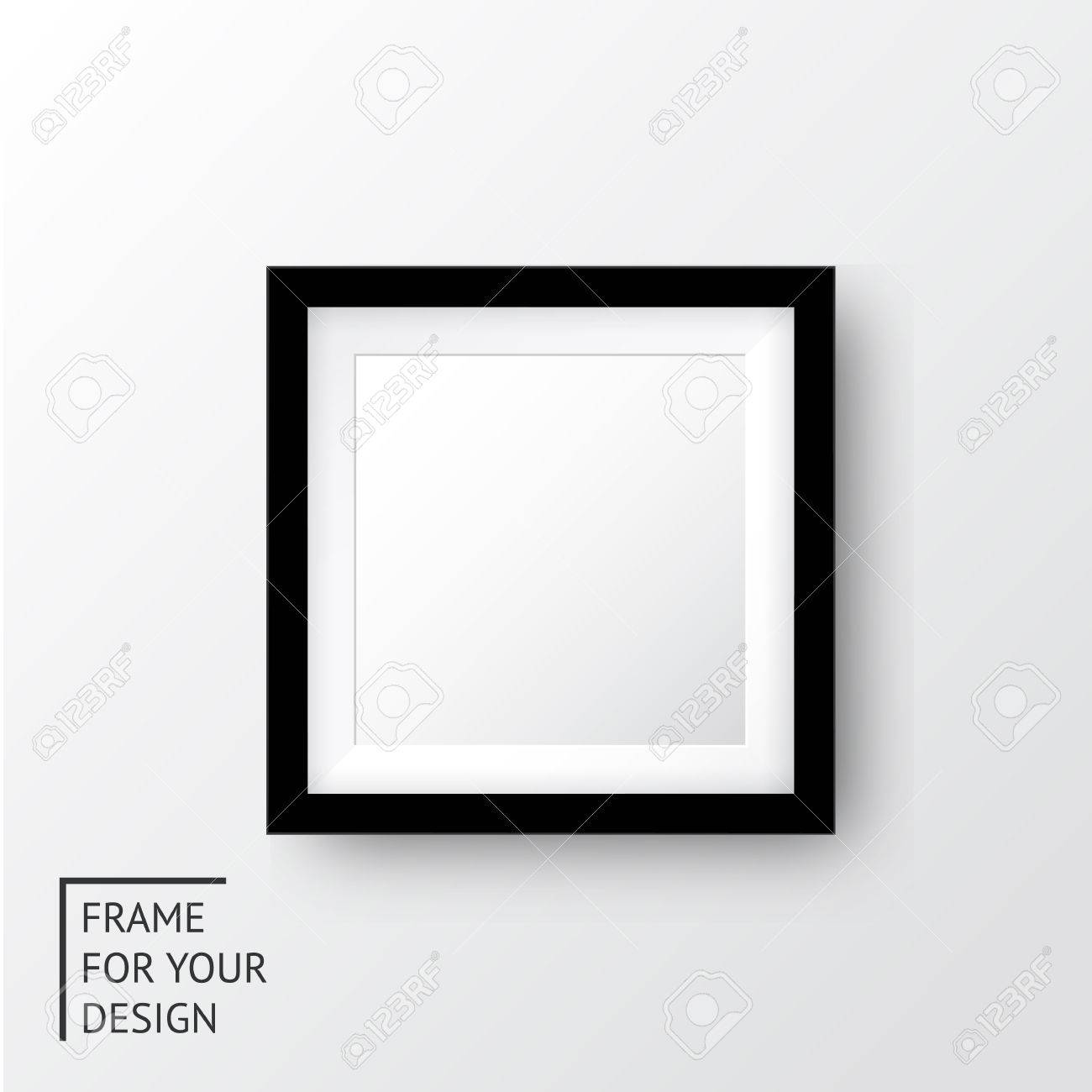 Realistic picture frame - 35297879