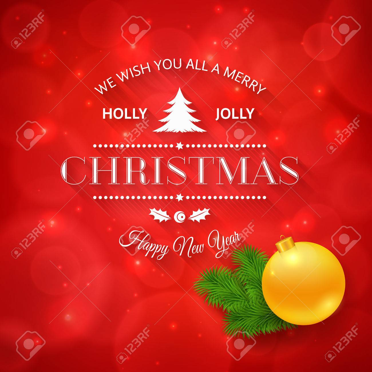 Merry christmas greetings logo on colorful background christmas merry christmas greetings logo on colorful background christmas design made in vector stock vector kristyandbryce Image collections