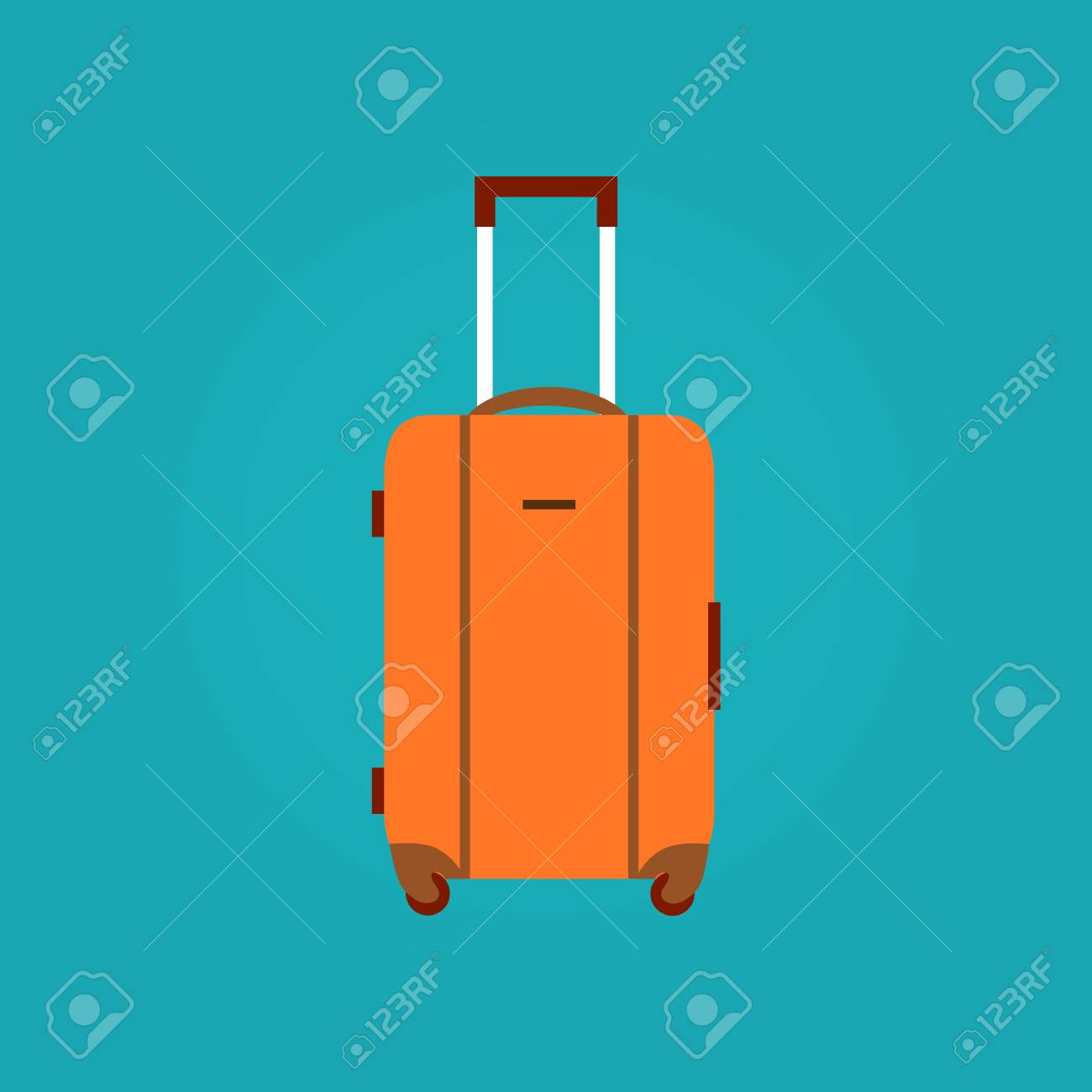 Travel Bag Vector Illustration. Travel Bag Isolated Icon. Travel ...