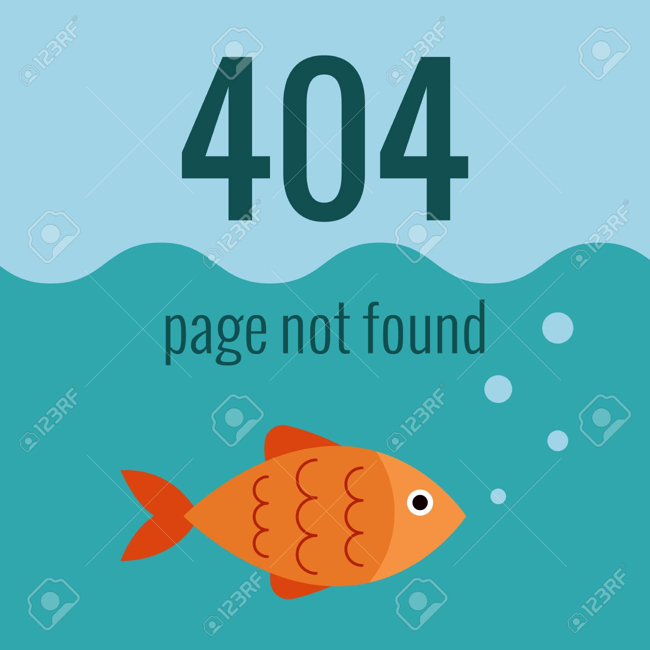vector concept 404 error illustration for 404 page not found
